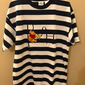 Rare Vintage Disney Winnie the Pooh Striped Shirt!